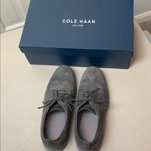 Men's Cole Haan Grand OS suede shoes w/box!